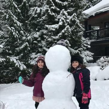 Quase pronto nosso snowman!