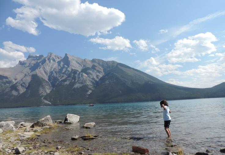 Minewanka Lake - www.viagemeintercambioemfamilia.wordpress.com