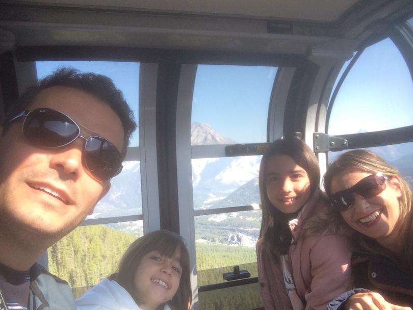 Banff Gondola www.viagemeintercambioemfamilia.wordpress.com